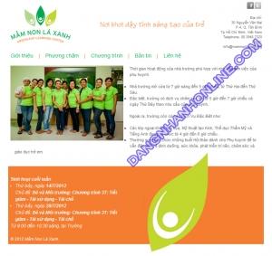 Mẫu Website Thiết Kế 0132
