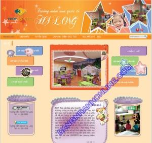 Mẫu Website Thiết Kế 0131
