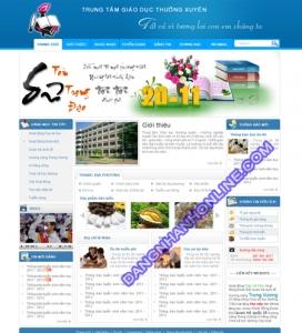 Mẫu Thiết Kế Web 0129