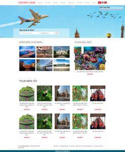 coconutlandtourism.com.vn + dulichquedua.com.vn