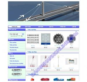 Thiết kế website ducnang.com