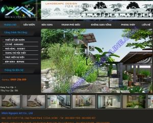 Thiết kế website minhnguyen9.com