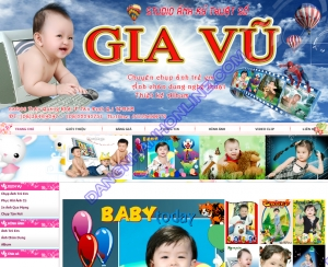 Thiết kế website photostudiogiavu.com