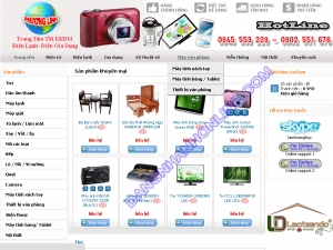 Thiết kế website trungtâmdienmayphuonglinh.com