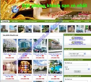 Thiết kế website bookinghotel247.net