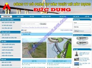 Thiết kế website ducdung.org.vn