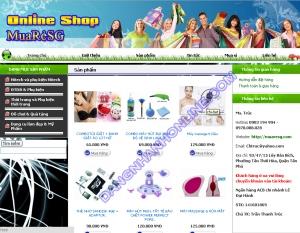 Thiết kế website muaresg.com