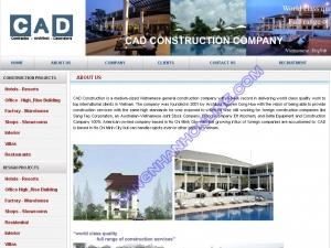 Thiết kế website cadcons.com