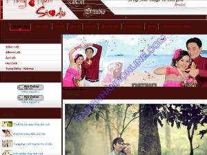 Thiết kế website aocuoihongtham.com