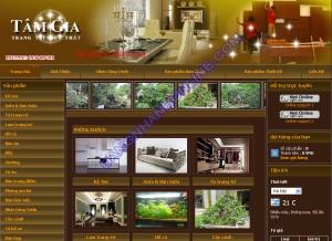 Thiết kế website noithâttamgia.com