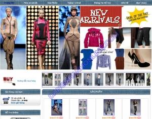 Thiết kế website zipsmode.com