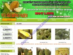 Thiết kế website muabansaurieng.com