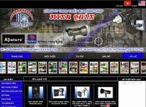 Thiết kế website thietbiphongchup.com