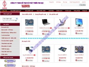 Thiết kế website sudico.com.vn