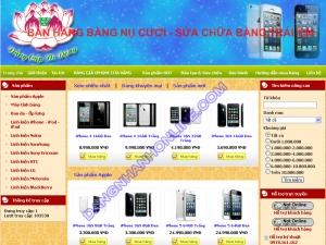 Thiết kế website dangcapdidong.com