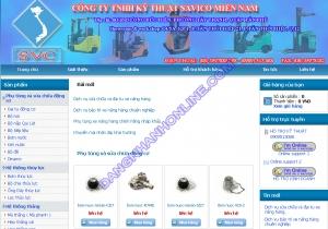 Thiết kế website xenangsavico.com