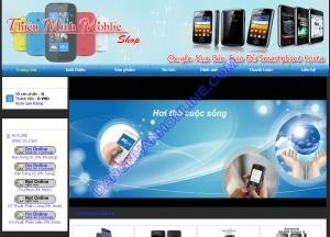 Thiết kế website thienminhmobile.com