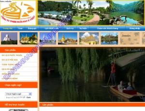 Thiết kế website ngoisaoachau.com.vn