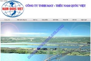 Thiết kế website namquocviet.com