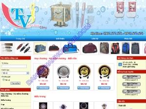 Thiết kế website webquatang.com.vn