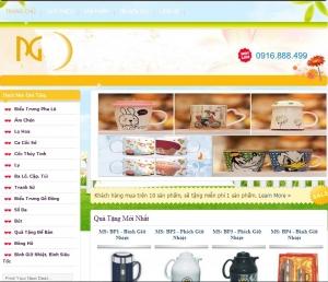 Thiết kế website quatangphucgiaminh.com