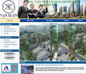 Thiết kế website vanxuan.org.vn