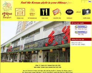 Thiết kế website shangchaisaigon.com