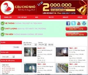 Thiết kế website cauchunho.vn