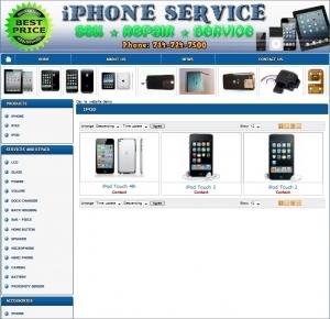 Thiết kế website queeniphone.com
