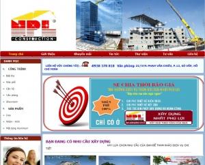 Thiết kế website  xaydungphuloi.com.vn