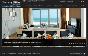 Thiết kế website  lux.villadanang.vn