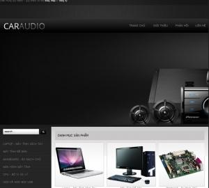 Thiết kế website  thiet bi may tinh