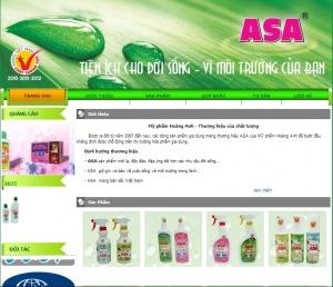 Thiết kế website asavn.vn