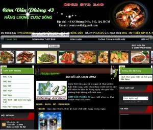 Thiết kế website comvp43.com