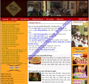 Mẫu Thiết Kế Web 0188