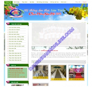 Mẫu Thiết Kế Web 0187