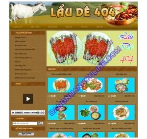 Mẫu Thiết Kế Web 0183